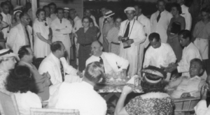 Frieders and Quezon at the Roundtable (Mariquina Hall April 23, 1940)