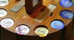 Paul V. McNutt's Personalized Poker Chips